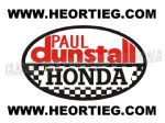 Paul Dunstall Honda Tank and Fairing Transfer Decal DDUN5-1